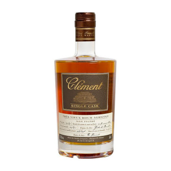 CLEMENT - Single Cask Canne Bleue - Rhum hors d'âge - martinique