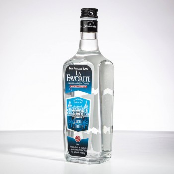 Rhum la favorite - coeur de canne - 50cl - martinique - rhum blanc