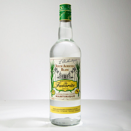 LA FAVORITE - L'Authentique - Rhum Blanc - 50° - 100cl