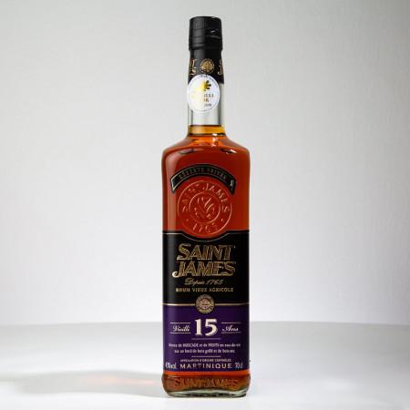SAINT JAMES - Réserve privée - 15 Jahre alt - Extra Alter Rum - 43° - 70cl