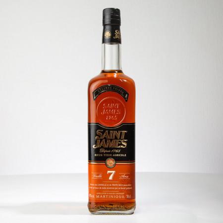 SAINT JAMES - Réserve privée - 7 Jahre - Sehr alter Rum - 43° - 70cl