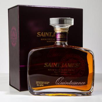Rhum SAINT JAMES - Quintessence - Carafe - martinique - rhum agricole - pur jus