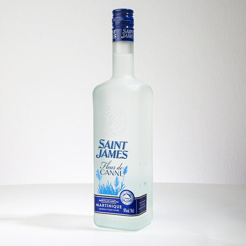 SAINT JAMES - Fleur de Canne - Rhum blanc - 50° - 70cl