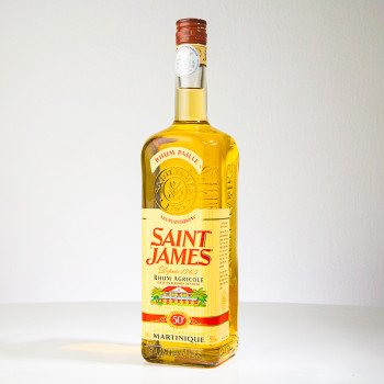 SAINT JAMES - Rhum Paille - Rhum Ambré - 50° - 100cl